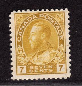 $Canada Sc#113 M/NH/F-VF, CV. $180
