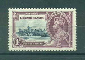 Leeward Islands sc# 99 mhr cat value $20.00
