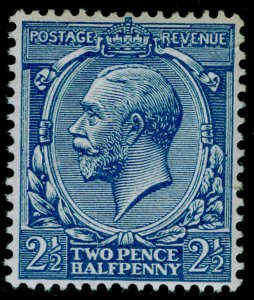SG372 SPEC N21(10), 2½d blue, NH MINT. RPS CERT