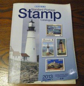 2013 Scott Stamp Catalogue Countries A-B