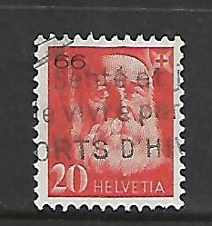 SWITZERLAND,S15, USED, J.H. DUNANT