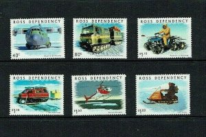 Ross Dependency: 2000, Antarctic Transport, MNH set