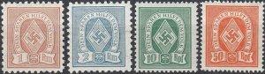 Stamp Germany Revenue WWII Fascism War Era Sport Folk Selection HJ MNH