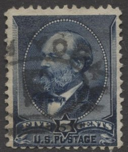 STAMP STATION PERTH US #216 Garfield Used