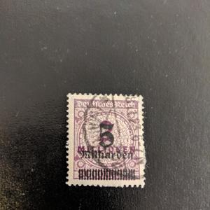 Germany 311 VF-XF, CV $140.00