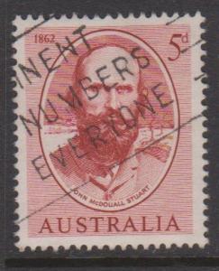 Australia Sc#345 Used