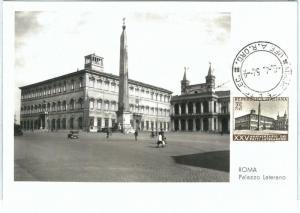 71043 -  ITALY   - Postal History - MAXIMUM CARD -  ARCHITECTURE  1954
