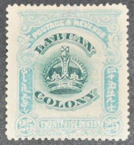 DYNAMITE Stamps: Labuan Scott #107 – MINT hr