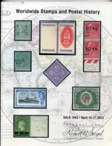 Siegel Worldwide Stamps and Postal History