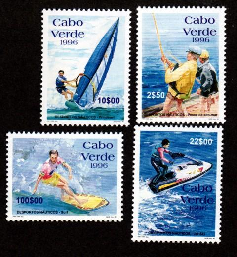 Cape Verde 705-708 Mint NH Tourism!