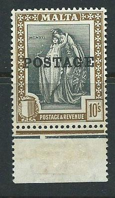 Malta SG 156 Mint Hinged margin copy