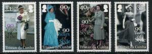 HERRICKSTAMP NEW ISSUES TRISTAN DA CUNHA Sc.# 1075-75 QE II 90th Birthday