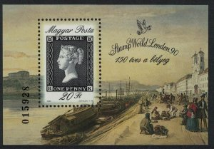 Hungary 150th Anniversary of the Penny Black MS SG#MS3976