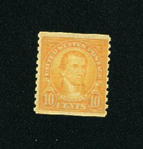 USA #603  Mint NH VF 1923-29 PD 4.50