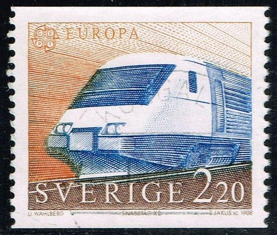 Sweden #1700 X2 High Speed Train; Used (0.90)