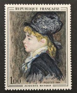 France 1968 #1207, MNH, CV $.50