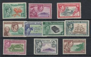 Pitcairn Island KGVI 1940 Set To 2s 6d SG1/8 MH J5304