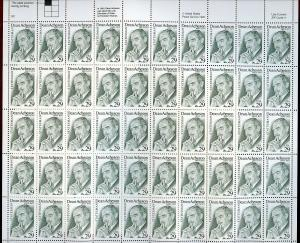 US SCOTT# 2755 DEAN ACHESON FULL SHEET OF 50 STAMPS MNH AS SHOWN