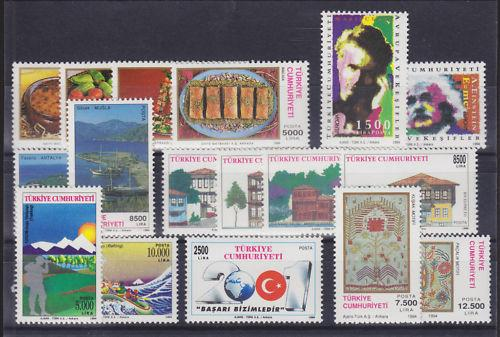 Turkey Sc 2593-2612 MNH. 1994 issues, 7 cplt sets VF