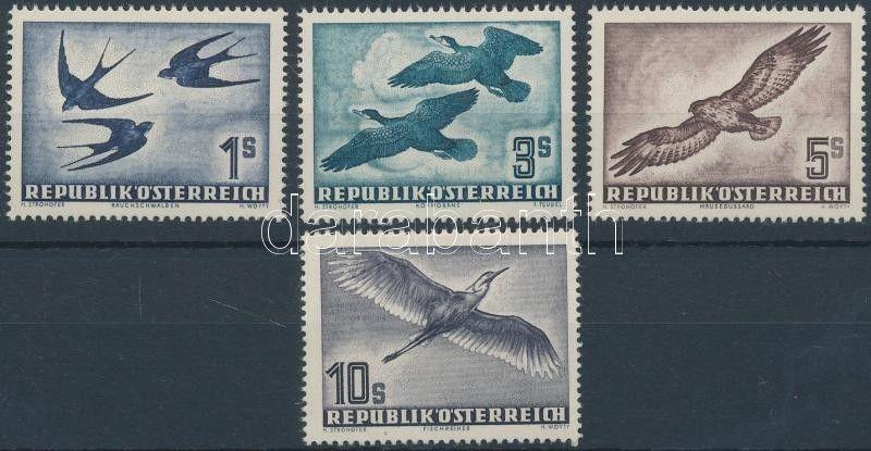 Austria stamp Birds set MNH 1953 Mi 984-987 WS151472