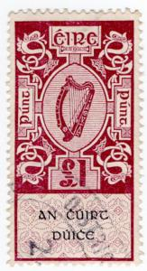 (I.B) Ireland Revenue : District Court of Justice £1