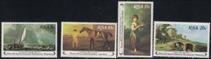 SouthAfrica SC538-541 National Gallery-50thAnniversary MNH 1980