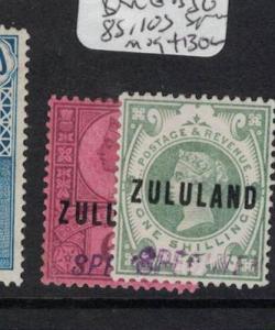 Zululand Specimen SG 8s, 10s MOG (3dqj)