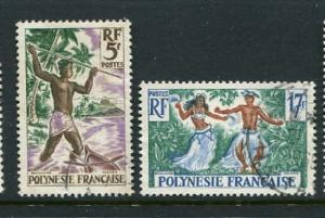 French Polynesia #193-4 Used