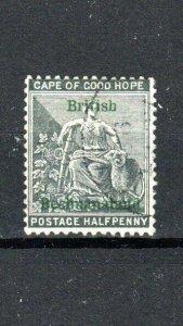 Bechuanaland - British Bechuanaland 1888 1/2d Cape of Good Hope opt FU CDS