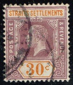 Straits Settlements #120 King Edward VII; Used (4.50)