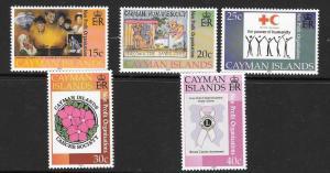 CAYMAN ISLANDS SG952/6 2001 NON-PROFIT ORGANISATIONS   MNH