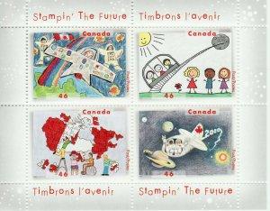 Canada Stamp #1862B - Stampin' the future (2000) 4 x 46¢