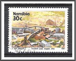 Namibia #681 Tsumeb Mine Used