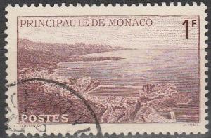 Monaco #168A  F-VF Used  (S3988)