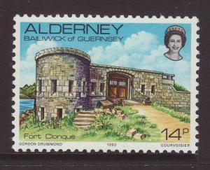 1983 Alderney 14p U/M SGA8