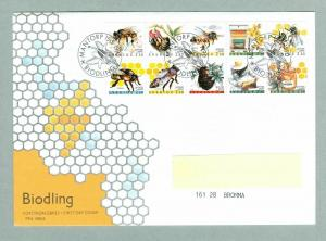 Sweden. FDC 1990 .Cachet Discount Stamps XII  Beekeeping. Addressed.