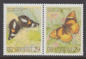 Micronesia 182 Butterflies MNH VF