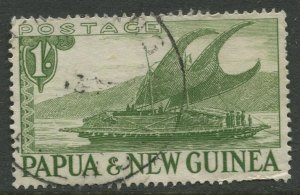 STAMP STATION PERTH Papua New Guinea #131 General Issue  Used 1952 CV$0.25