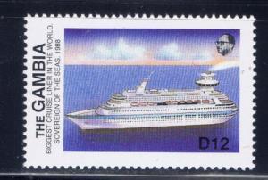 Gambia 785 NH 1988 Ship