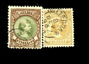 Netherlands #49 52 Used F-VF Cat $43