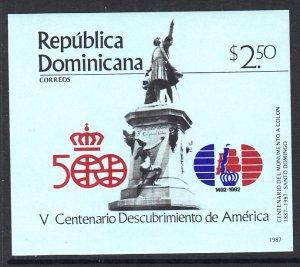 Dominican Republic 1006 Souvenir Sheet MNH VF