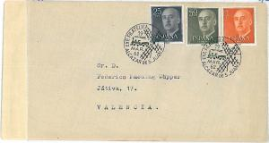 TRAINS - SPECIAL POSTMARK on COVER : SPAIN 1962