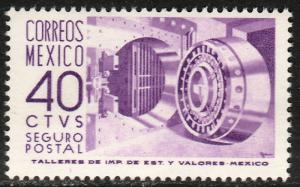 MEXICO G21, 40cents 1950 Definitive 3rd Printing wmk 350. MINT, NH. F-VF.