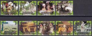 Cook Islands #1482-90  MNH CV $11.90  (A19876)