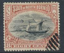 North Borneo  SG 103 Used  perf 14 please see scan & details
