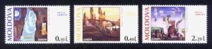 Moldova Sc# 164-6 MNH Europa 1995 / Art