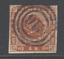 Denmark Sc # 4 used (RRS)