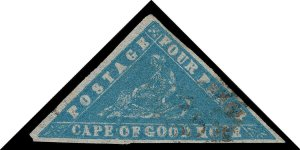 Cape of Good Hope Scott 9a Gibbons 14b Used Stamp