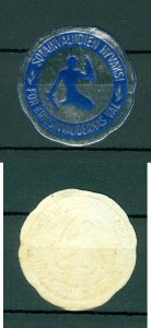 Finland. Seal Embossed 1960s. MNH. Military. Veteran Support.