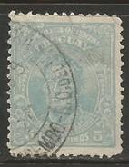 URUGUAY 205a TYPE II LIGHT BLUE VARIETY 1068G-3